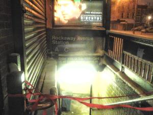 Closed Rockaway Ave Subway station