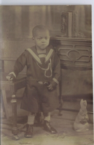 My Dad Edward Gordon Palmer circa 1935.  This photo was taken by famous renowned Harlem Renaissance Photographer James Van Der Zee.