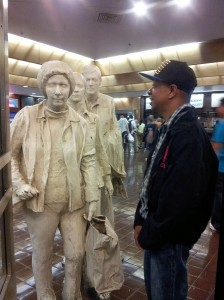 Stephen with Commuters Port Authority