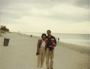 DeBorah1986Dad_Beach