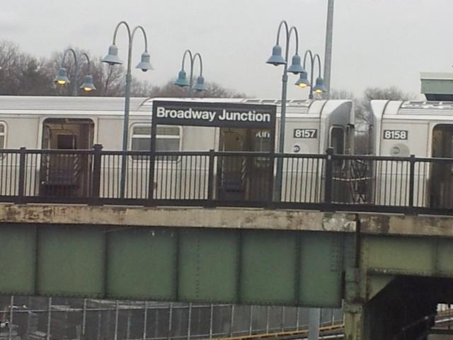 Broadway Junction, Subway Station Brooklyn, NY