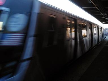 Arriving L Train