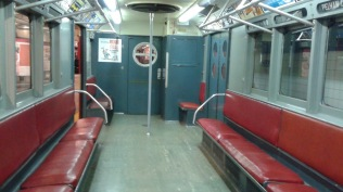 Old Fashioned Subway Seating