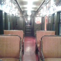 Old Time Subway Seating