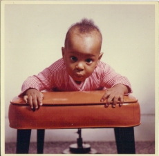 My darling baby brother Stephen December 1961