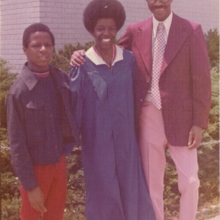 Stephen, Me & Daddy 1977