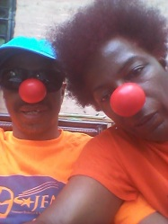 Red Nose Siblings
