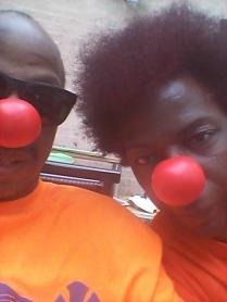 Red Nose Siblings