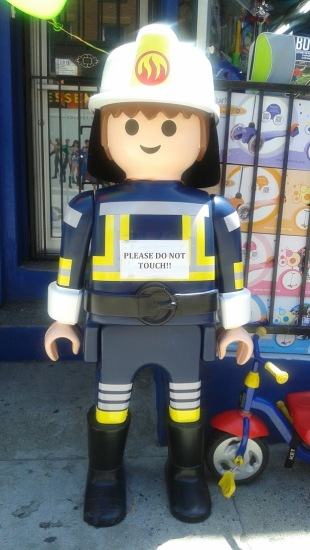 Lego Firefighter