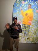 Stephen imitating Art