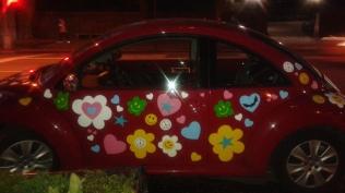 VW Love Bug Car