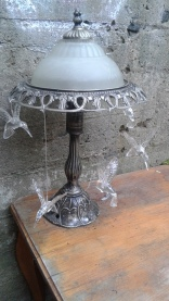 Hummingbird Lamp