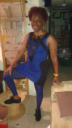 Blue Spider Woman