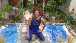 Blue Spidey Woman