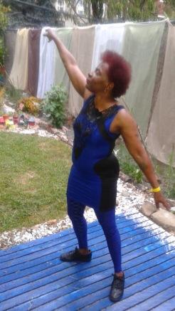 Blue Spider Lady