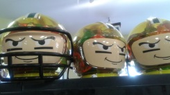 Football Party Candy Heads