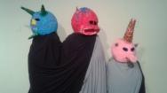 3 Punkin head Amigos