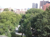 Marcus Garvey Park formerly Mt. Morris Park in Harlem