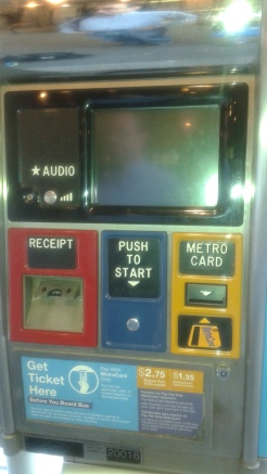 MTA Select Service Machines Out of Service/Out of Order