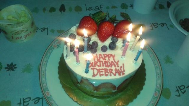 57 Birthday Cake