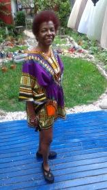 Purple African Queen