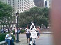 Cows trying to get people to eat more Chicken!