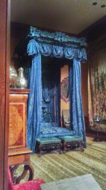 Blue British Bed