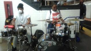 Masked Drummer Band