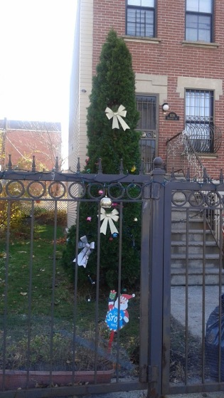 Creepy Christmas Gate