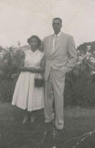Mom and Dad Mable & Edward Palmer