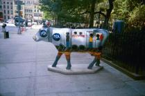 Cows on Parade 2000 MTA Transit Cow