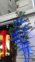 Along 86th Street 2015 Blue Christmas Tree Decoration