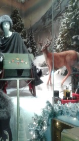 Christmas Window Reindeer