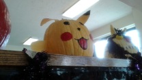 Pikachu Pumpkin