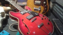 red-guitar