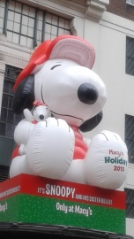 Macy's Holiday 2015 Snoopy