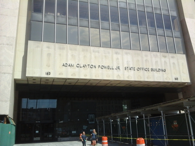 Adam Clayton Powell, Jr. Office Building in Harlem