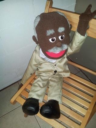 geezer-puppet