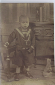 My Dad Edward G. Palmer around age 5 or 6