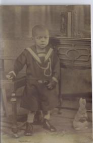 My Dad Edward G. Palmer around age 5 or 6