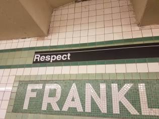 Franklin Avenue Subway stop on the C Line