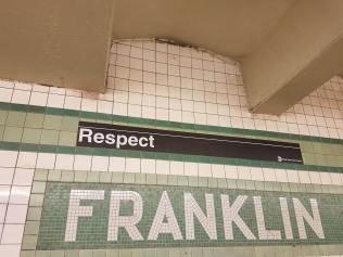 Franklin Avenue Subway Station along the C Line